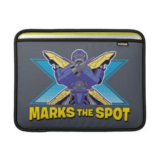 X Marks the Spot MacBook Sleeve