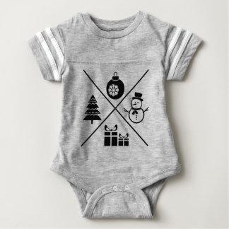 X-Mas Baby Bodysuit