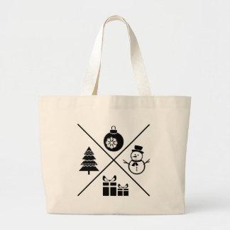 X-Mas Large Tote Bag