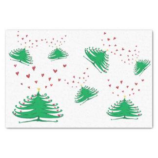 X-mas pine tree Tissue Paper - 15 gsm (10lb)