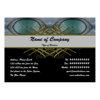 X Pool Large Business Card