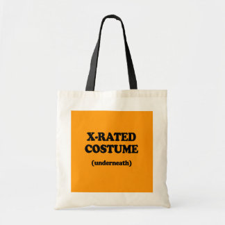 X-RATED COSTUME - Halloween - png Bags