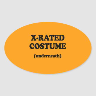 X-RATED COSTUME - Halloween - png Sticker