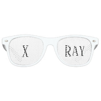 X Ray Christmas Holiday Gift Party Glasses