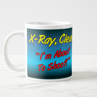 X-Ray,Clear Large Coffee Mug