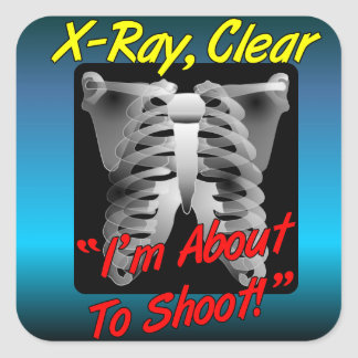 X-Ray, Clear Sticker