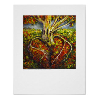 X-ray Cover art - Cardiac Roots by L. Rainey Poster