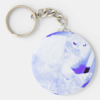 X-ray Kitty Keychain