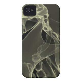 x-ray my skull white iPhone 4 cover