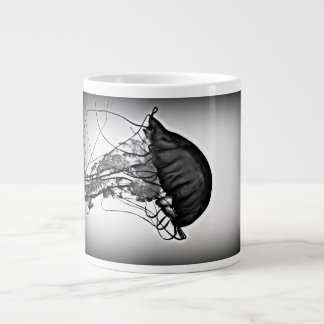 X-ray of a jellyfish large coffee mug