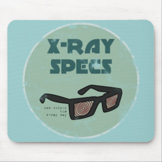 x-ray specs Mousemat Mouse Pad