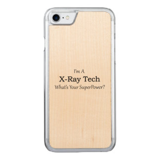 X-Ray Tech Carved iPhone 7 Case