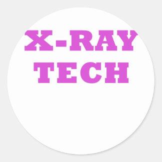 X-Ray Tech Classic Round Sticker