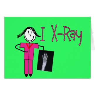 X-Ray Tech Gifts Greeting Card