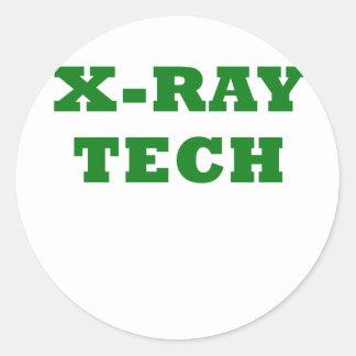 X-Ray Tech Round Sticker