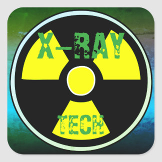 X-RAY TECH Sticker