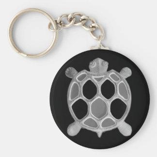 X-Ray Turtle! Basic Round Button Keychain