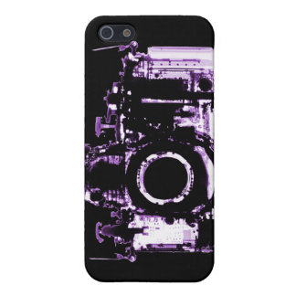 X-RAY VISION CAMERA - PURPLE iPhone 5 CASES