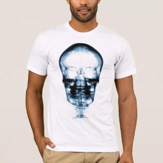 X-RAY VISION SKELETON SKULL - BLUE T-Shirt