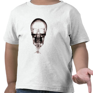 X-RAY VISION SKELETON SKULL - ORIGINAL T SHIRTS