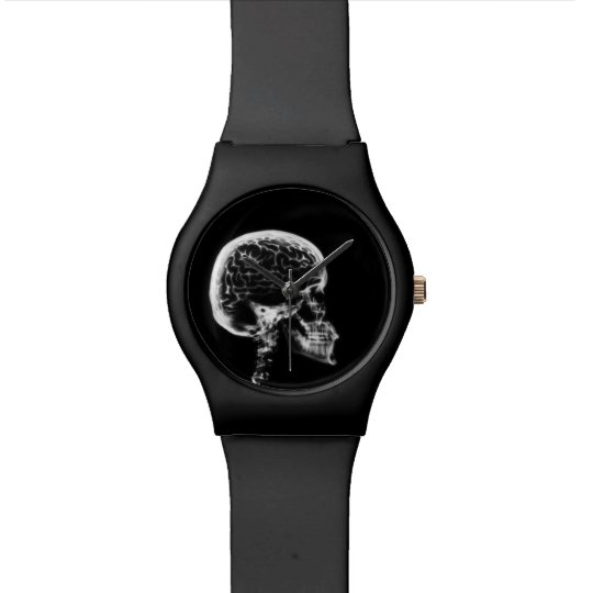 X-Ray Vision Skeleton Skull Wristwatch