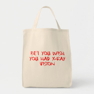 X-Ray Vision Tote Bag