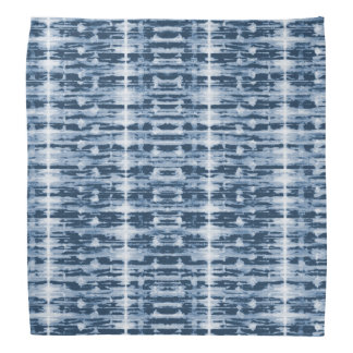 X-Ray Watercolor Shibori Stripe Bandana
