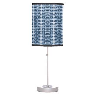 X-Ray Watercolor Shibori Stripe Lamp