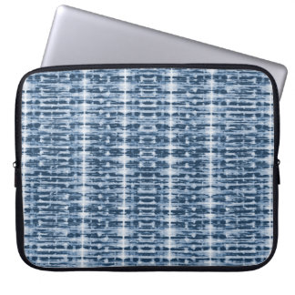 X-Ray Watercolor Shibori Stripe Laptop Sleeve
