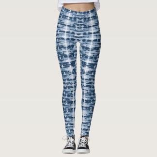 X-Ray Watercolor Shibori Stripe Leggings