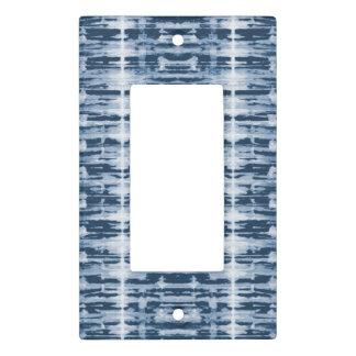 X-Ray Watercolor Shibori Stripe Light Switch Cover