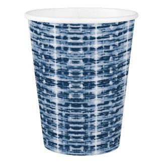 X-Ray Watercolor Shibori Stripe Paper Cup