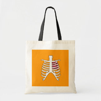 X-RAY WITH HEART - Halloween - png Tote Bag