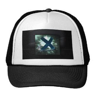 X Records Board Trucker Hat