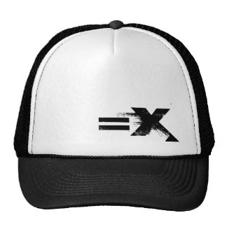 =X Shut Up N Listen Trucker Hat