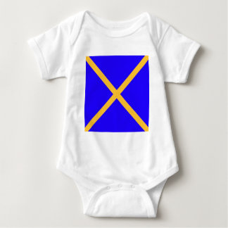 x test baby bodysuit