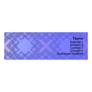 X Waves Big Mini Business Card