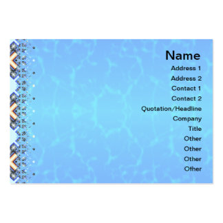 X Waves Small Pack Of Chubby Business Cards