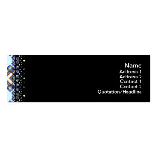 X Waves Small Business Card Templates