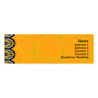 X Waves Small Double-Sided Mini Business Cards (Pack Of 20)