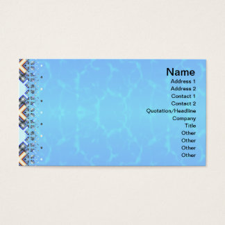 X Waves Small Business Card
