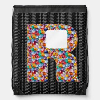 x xx x alpha initial name Birthday HappyBirthday Backpacks