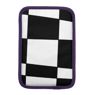 XADREZ PRETO 2 iPad MINI SLEEVE