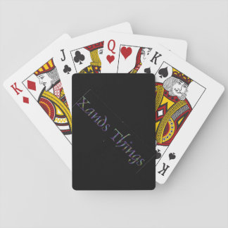 Xands Things Playing Cards