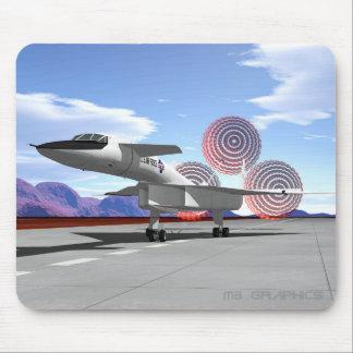 XB-70 chutes Mouse Pad