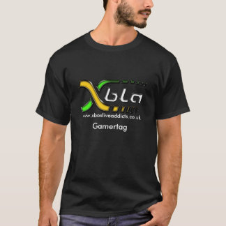 Xboxliveaddicts- Black T-Shirt