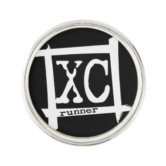 XC Runner Lapel Pin