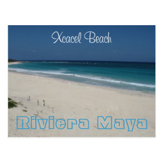 Xcacel Beach Postcard
