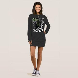 XCAPE HYPNOTIC SWEATSHIRT DRESS