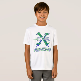 Xcel Fencing Team • Kids Performance Wear T-Shirt